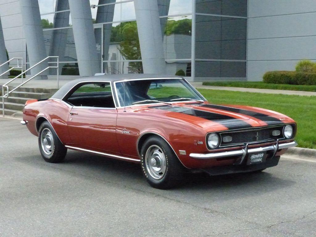 1968 Chevrolet Camaro Z/28  - 16589361 - 1