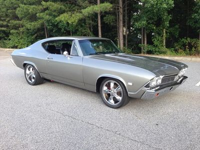 1968 Chevrolet Chevelle SOLD - Pro-Street Resto-Mod Muscle Car Coupe