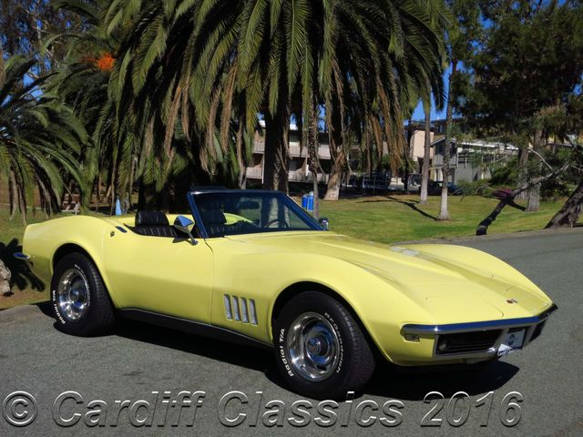 1968 Used Chevrolet Corvette Convertible C3 Roadster At Cardiff