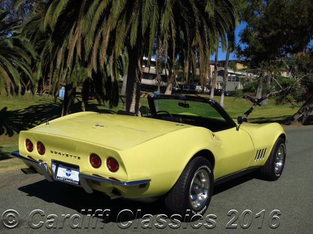 1968 Chevrolet Corvette Convertible C3 Roadster Click To See Full Size Photo Viewer