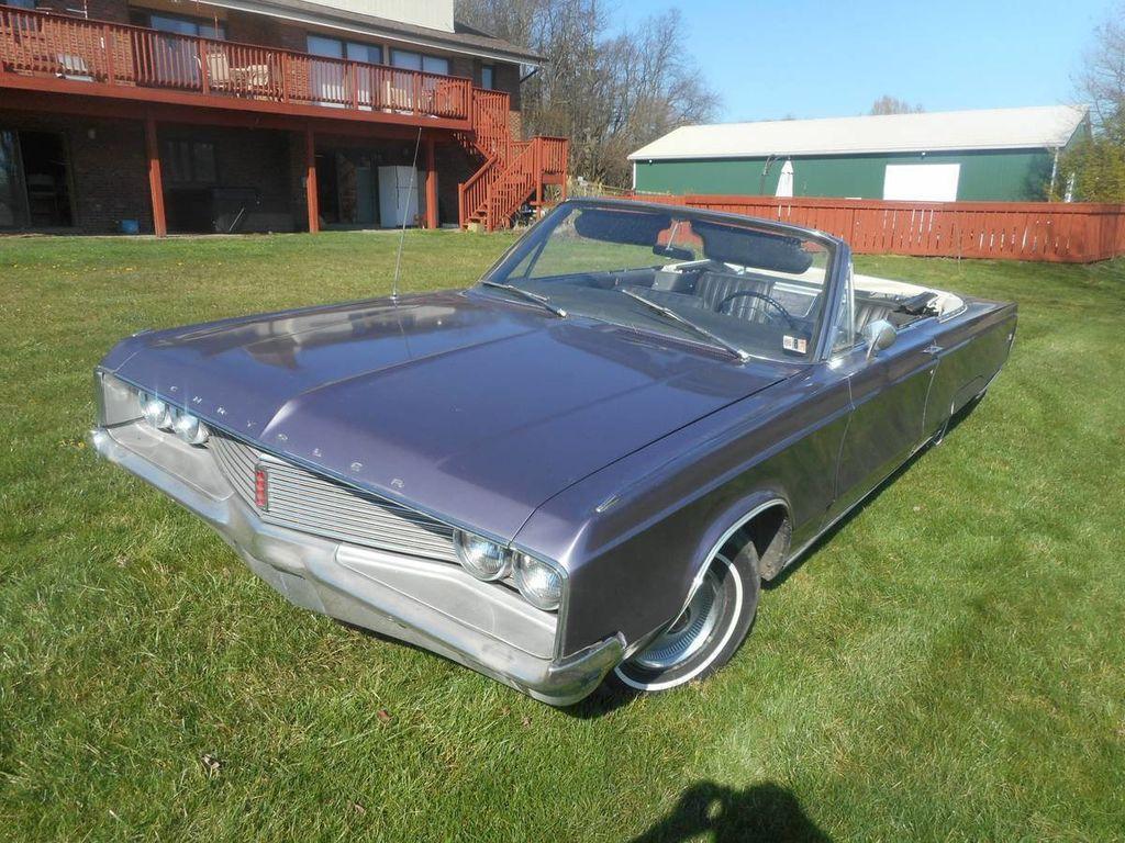 1968 Chrysler Newport Convertible For Sale - 16420954 - 1