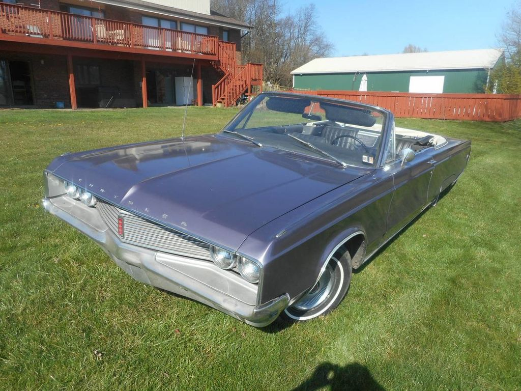 1968 Chrysler Newport 300 Convertible For Sale Convertible - CE27H8C132186 - 1