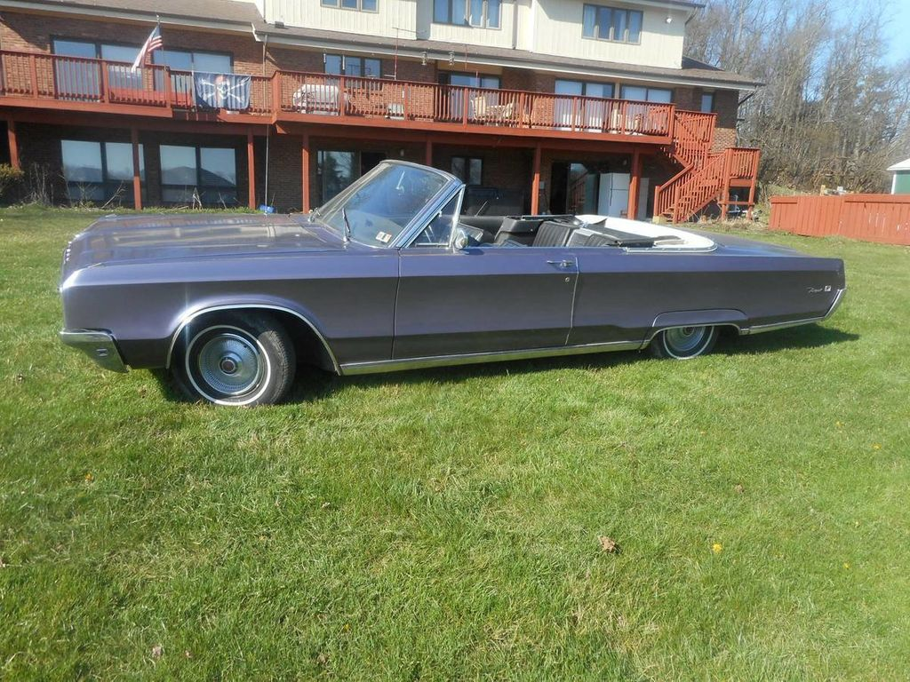 1968 Chrysler Newport 300 Convertible For Sale Convertible - CE27H8C132186 - 4