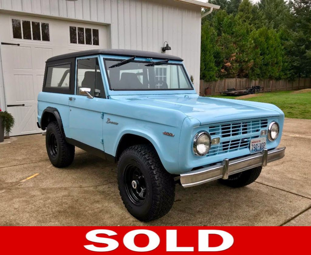 1968 Ford Bronco  - 16987420 - 0