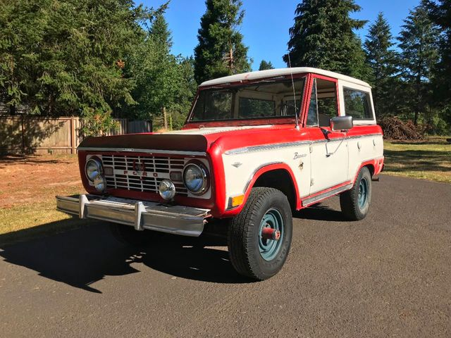 1968 Ford Bronco  - 17807002 - 1