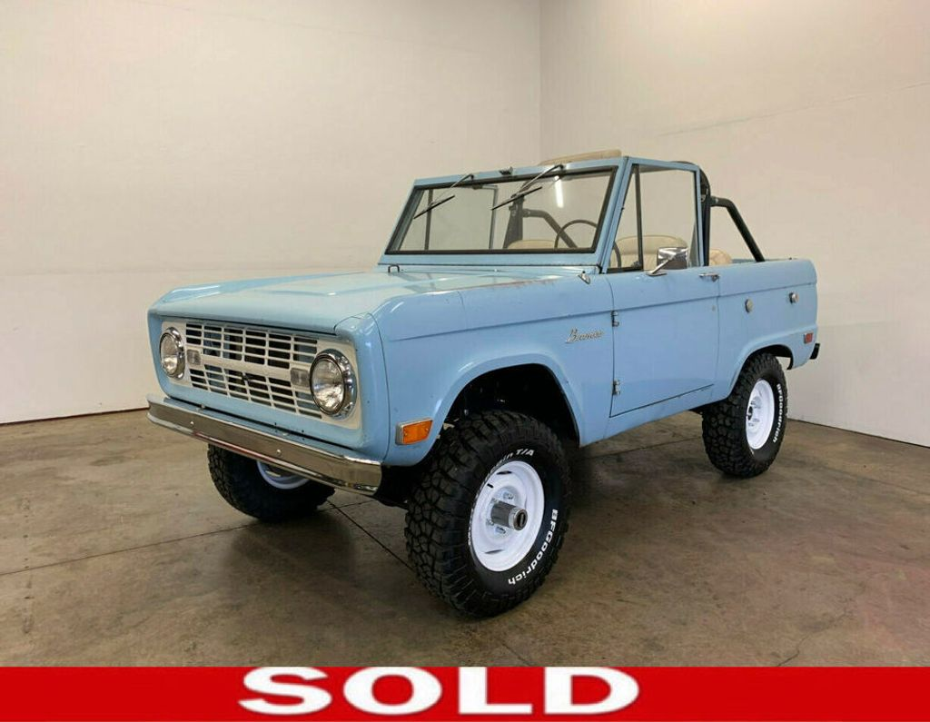 1968 Ford Bronco Excellent candidate for complete Restoration, or drive as-is! - 18133539 - 0
