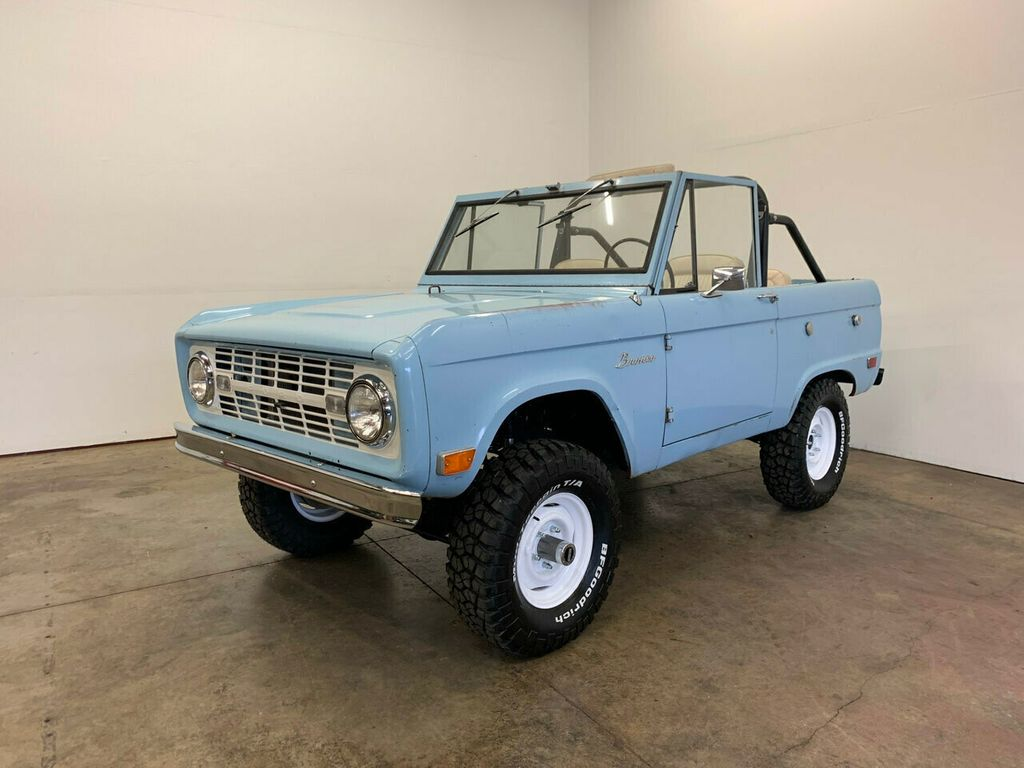 1968 Ford Bronco Excellent candidate for complete Restoration, or drive as-is! - 18133539 - 1