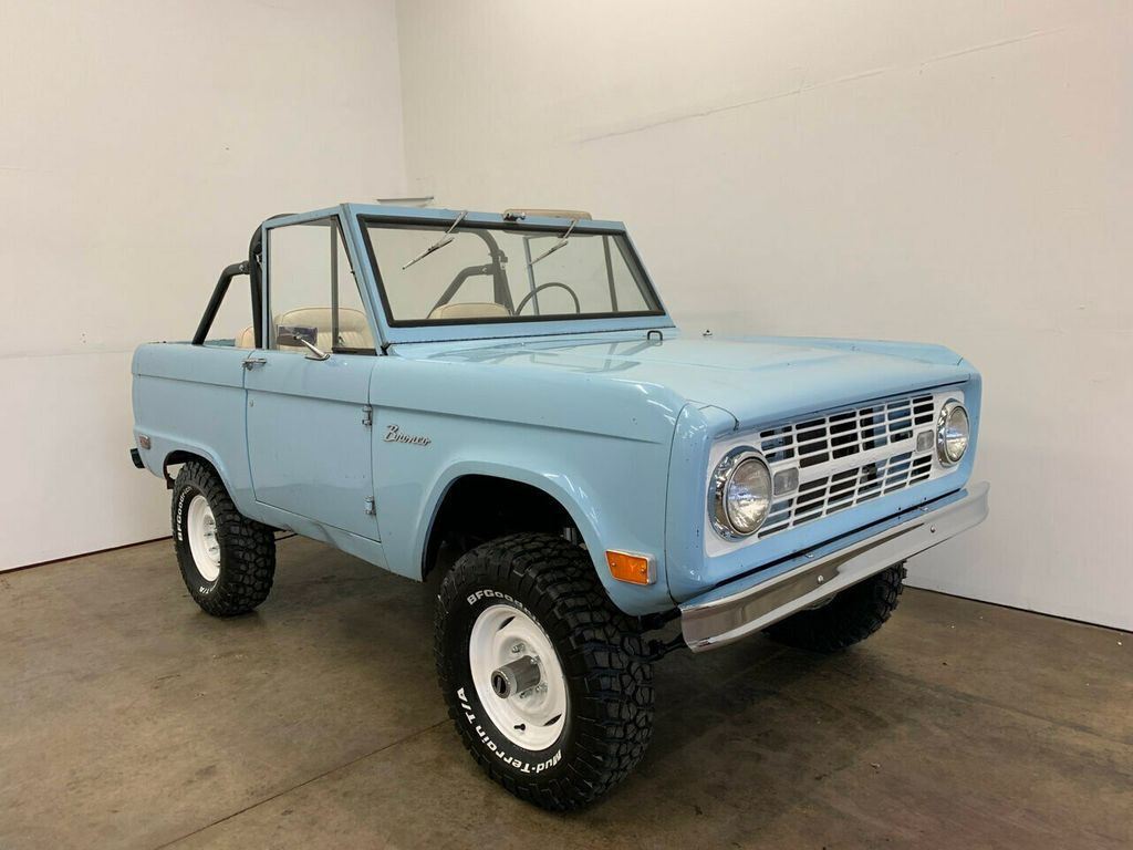 1968 Ford Bronco Excellent candidate for complete Restoration, or drive as-is! - 18133539 - 2