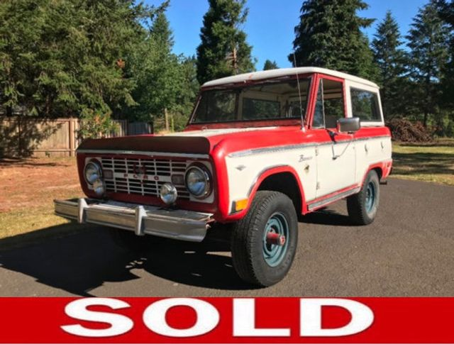 1968 Ford Bronco Great candidate for Restoration - 17807002 - 0