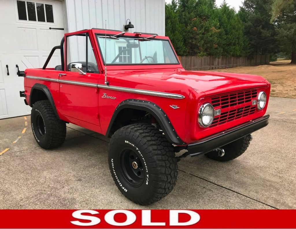 1968 Ford Bronco V8, Automatic, 4 Wheel Disc Brakes, Power Steering!  - 17886093 - 0