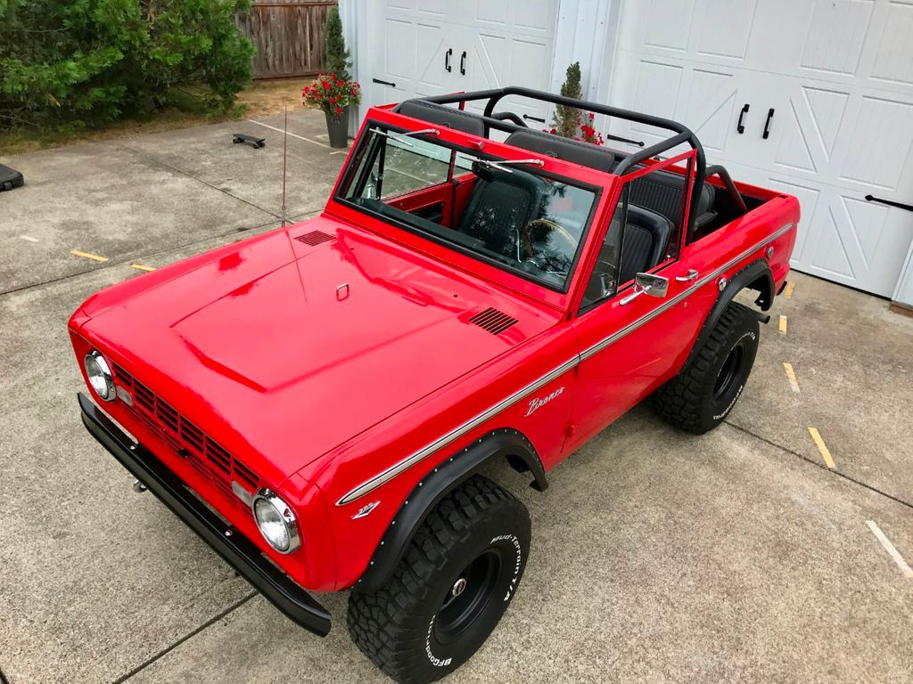 1968 Ford Bronco V8, Automatic, 4 Wheel Disc Brakes, Power Steering!  - 17886093 - 17