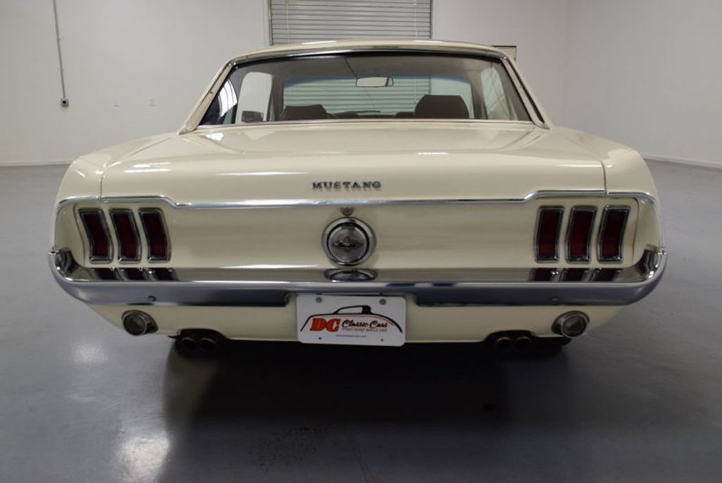 1968 Ford Mustang BUILT 302, 4-SPEED MANUAL, FRESH PAINT, DISC BRAKES, SOLID, - 16666632 - 13