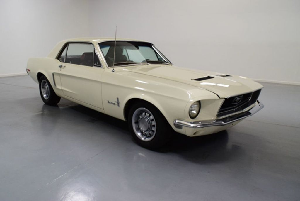1968 Ford Mustang BUILT 302, 4-SPEED MANUAL, FRESH PAINT, DISC BRAKES, SOLID, - 16666632 - 1