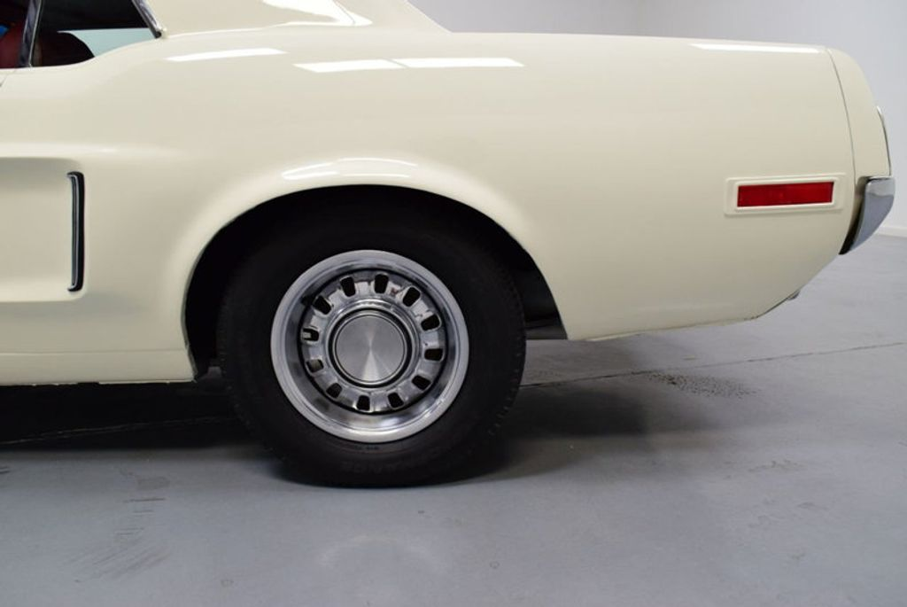 1968 Ford Mustang BUILT 302, 4-SPEED MANUAL, FRESH PAINT, DISC BRAKES, SOLID, - 16666632 - 27