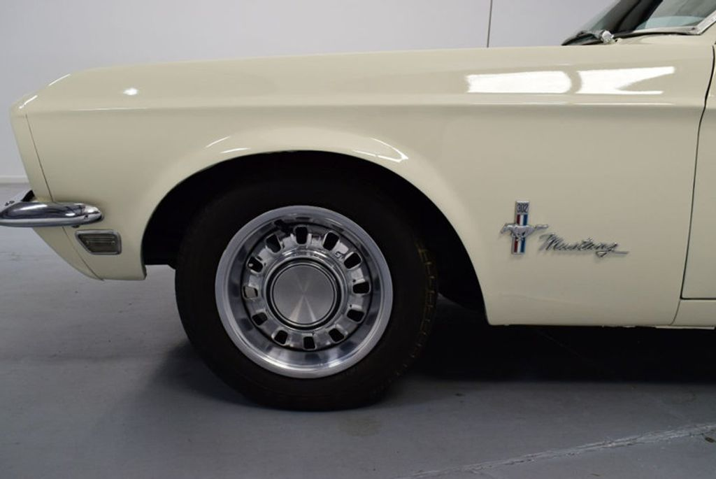 1968 Ford Mustang BUILT 302, 4-SPEED MANUAL, FRESH PAINT, DISC BRAKES, SOLID, - 16666632 - 28