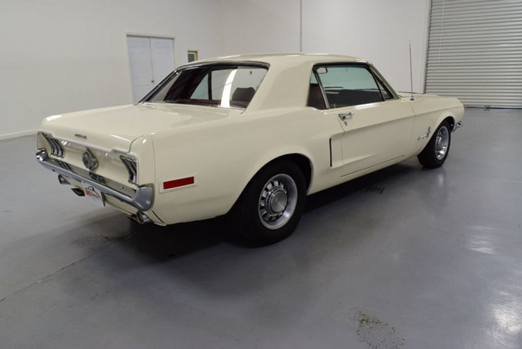 1968 Ford Mustang BUILT 302, 4-SPEED MANUAL, FRESH PAINT, DISC BRAKES, SOLID, - 16666632 - 2