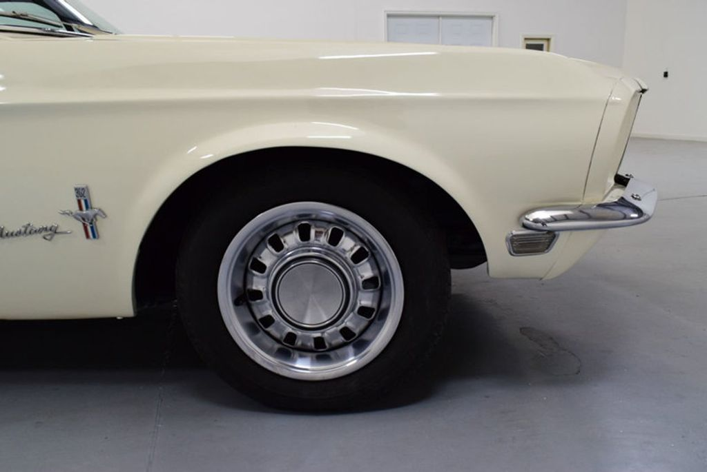1968 Ford Mustang BUILT 302, 4-SPEED MANUAL, FRESH PAINT, DISC BRAKES, SOLID, - 16666632 - 29