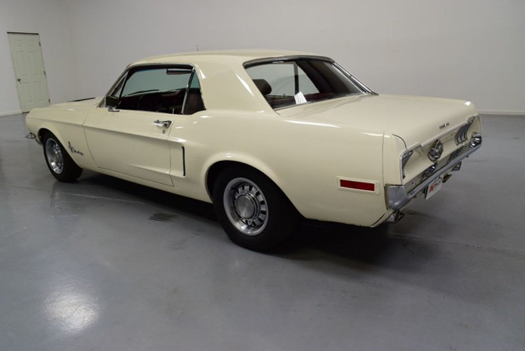 1968 Ford Mustang BUILT 302, 4-SPEED MANUAL, FRESH PAINT, DISC BRAKES, SOLID, - 16666632 - 3