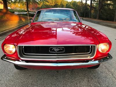 1968 Ford Mustang Mustang Coupe - Click to see full-size photo viewer