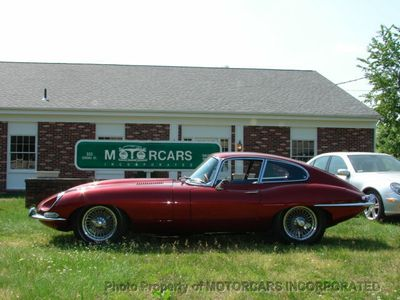 1968 Jaguar S1.5 E-TYPE FHC JAGUAR E-TYPE FIXED HEAD COUPE