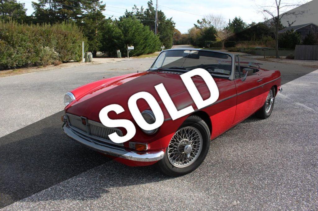 1968 MG B Convertible MK II For Sale - 17333003 - 0