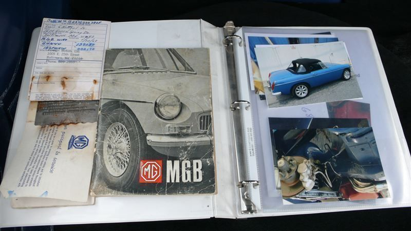 1968 MG MGB RESTORED SHOW CAR - 7795495 - 63