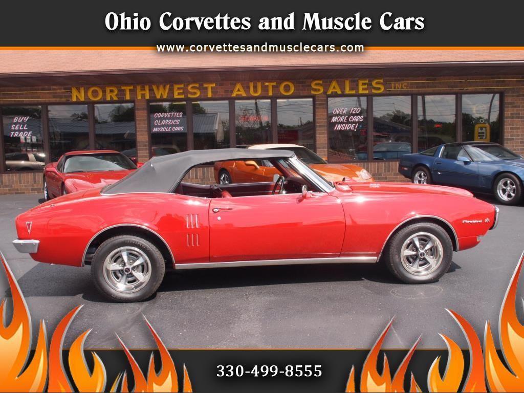 1968 Pontiac Firebird Convertible 17988099 0