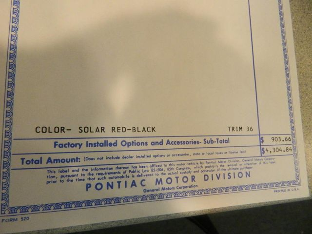 1968 Pontiac GTO For Sale - 12671026 - 17