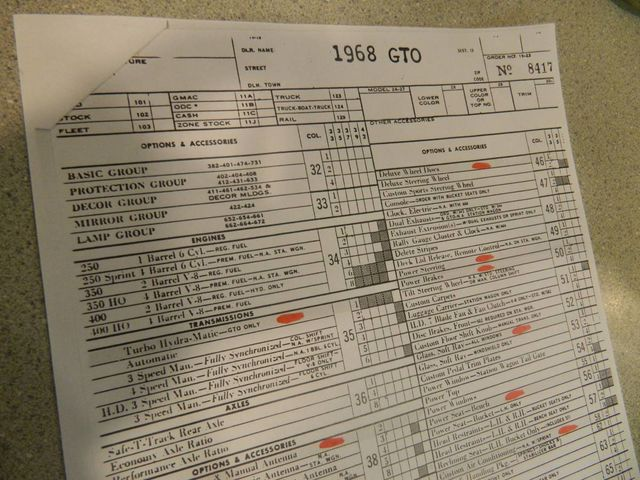 1968 Pontiac GTO For Sale - 12671026 - 18