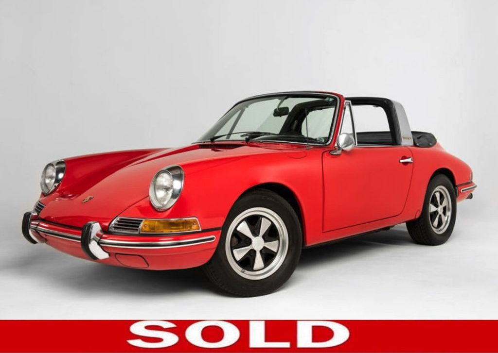 1968 Porsche 912 Targa Soft Window Super Rare Soft Window Targa! - 18042318 - 0