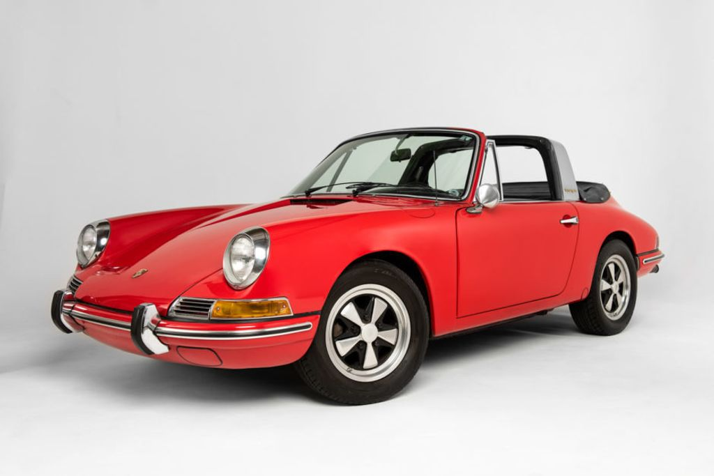 1968 Porsche 912 Targa Soft Window Super Rare Soft Window Targa! - 18042318 - 1