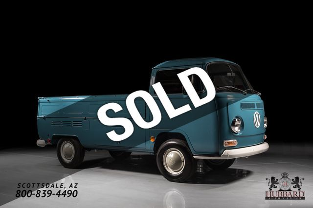 1968 Volkswagen Single Cab Pickup Under 13,000 miles, complete restoration! - Click to see full-size photo viewer