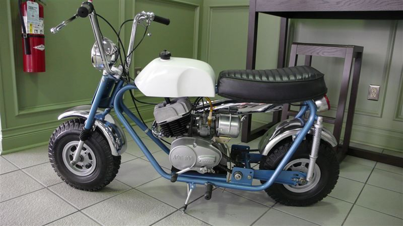 1969 BONANZA MINI BIKE RESTORED LIKE NEW - 7484214