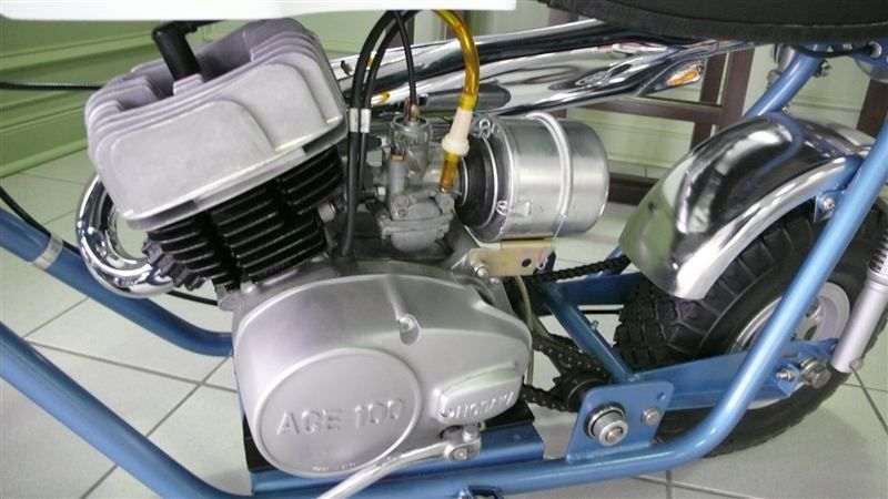 1969 BONANZA MINI BIKE RESTORED LIKE NEW - 7484214 - 11