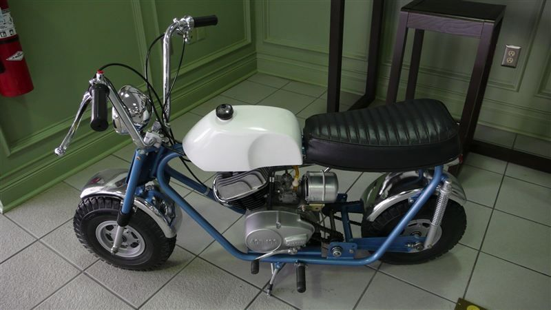 1969 BONANZA MINI BIKE RESTORED LIKE NEW - 7484214 - 2