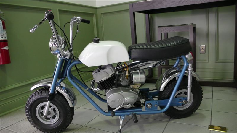 1969 BONANZA MINI BIKE RESTORED LIKE NEW - 7484214 - 3