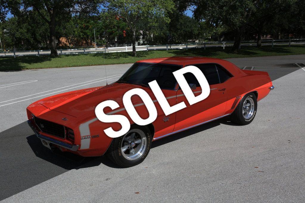 1969 69 Camaro hugger orange seat cover buttons
