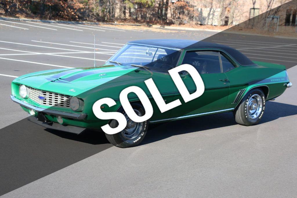 Yenko Camaro For Sale >> 1969 Chevrolet Camaro Yenko Copo Coupe For Sale Riverhead Ny 444 995 Motorcar Com