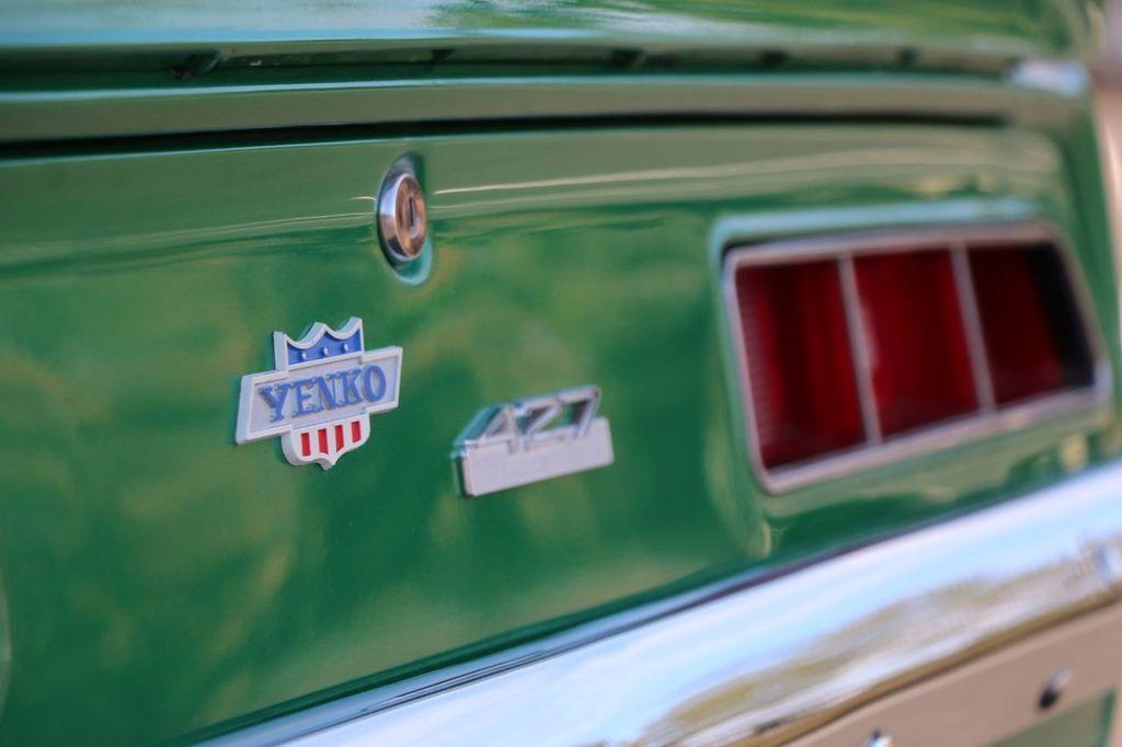 1969 Chevrolet Camaro Yenko COPO - 18515489 - 17