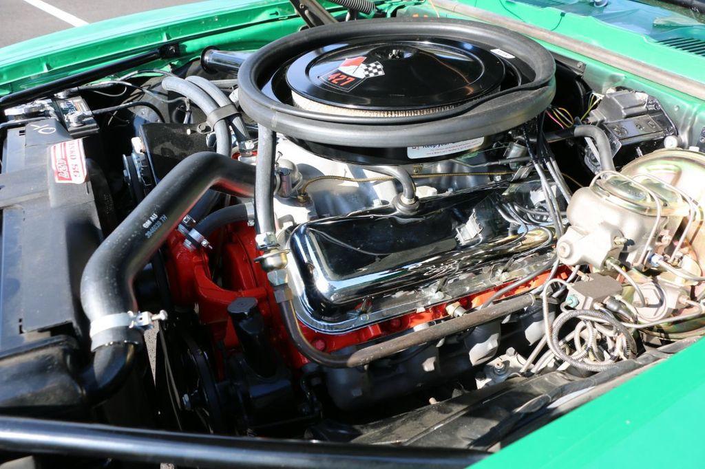 1969 CHEVROLET CAMARO 427 425 HORSEPOWER 427 V8 ENGINE EMISSIONS DECAL