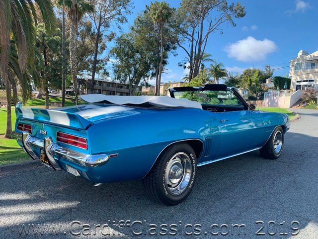 1969 Chevrolet CAMARO RS CONVERTIBLE  - Click to see full-size photo viewer
