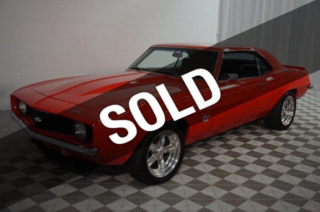 1969 Chevrolet Camaro Ss Zl540 Street Bully Coupe For Sale Novi
