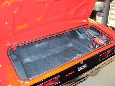 1969 Chevrolet Camaro SS ZL540 Street Bully - Click to see full-size photo viewer