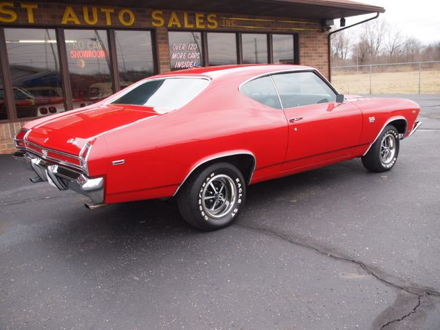 1969 Chevrolet Chevelle SS - Click to see full-size photo viewer