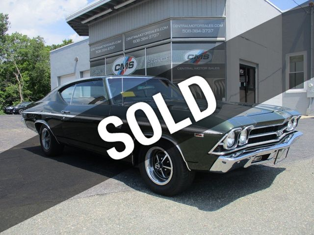 New Chevelle Ss >> 1969 Used Chevrolet Chevelle Ss At Central Motor Sales