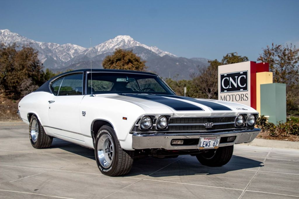 1969 Used Chevrolet Chevelle Ss At Cnc Motors Inc Serving Upland Ca Iid 18646793