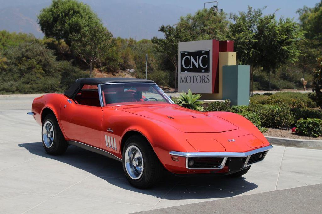 1969 Used Chevrolet Corvette Stingray 427 Stingray Convertible At Cnc Motors Inc Serving Upland Ca Iid 20202348