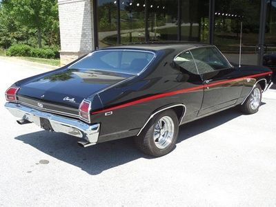 1969 Chevrolet SS396 Chevelle SS396 Super Sport - Click to see full-size photo viewer