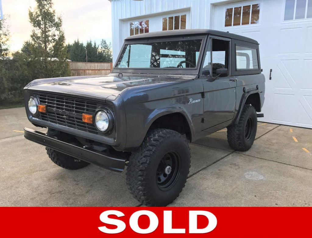 Used Ford Bronco For Sale 1971 Interior