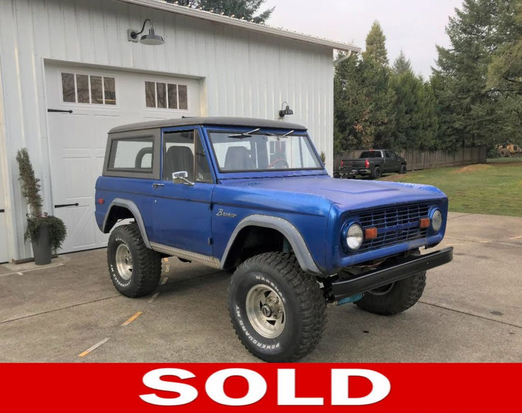 1969 Ford Bronco 302 V8, Power Steering and a 3spd Manual Trans  - 17149342 - 0